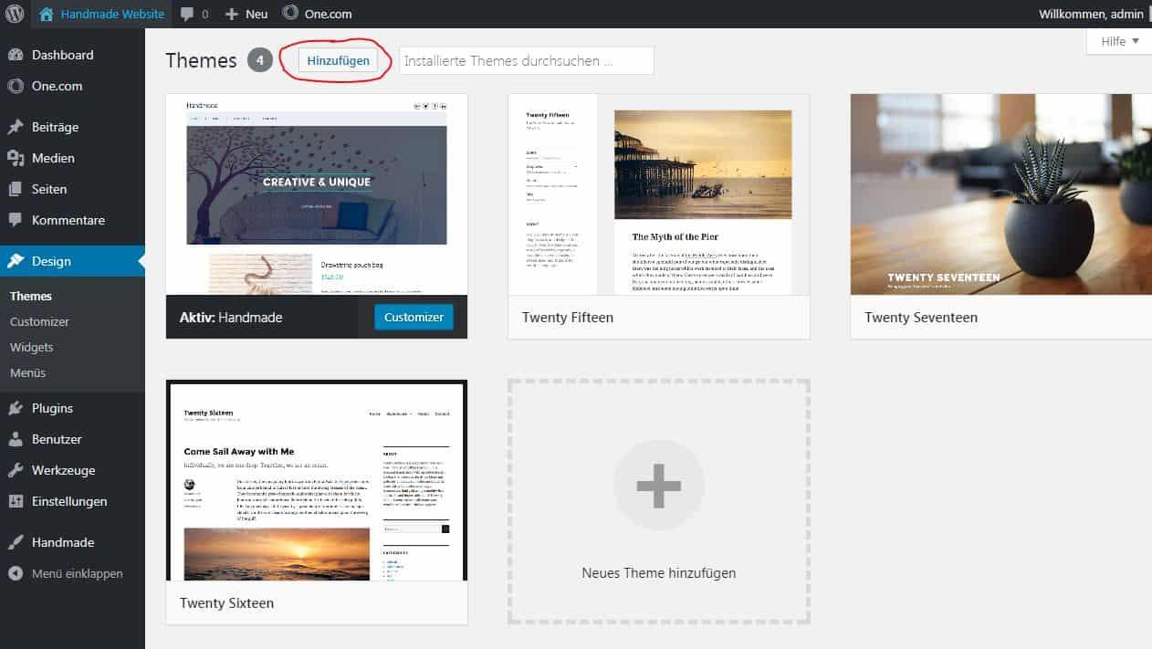 Homepage erstellen ohne Programmierkenntnisse